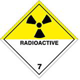 HAZARD LABELS RADIOACTIVE
