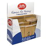 ASSORTED JIFFY BUBBLE ENVELOPES SMALL SELECTION 45