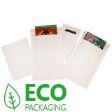 White Bio-Degradable Corrugated Envelopes
