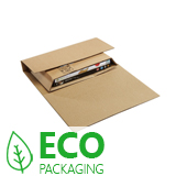 DAVPACK BROWN ECONOBOOK BOX 230 x 150mm