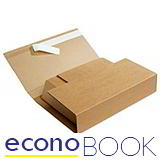 EconoBook Boxes With Adhesive Strip