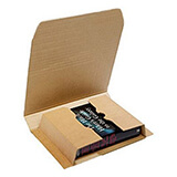 WC - DAVPACK BROWN CLASSIC BOOK BOX 430x310x10mm