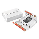 ColomPac® Double Seal White Book Boxes