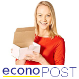 White EconoPost Boxes