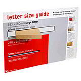POST SAVER BOX A6 BROWN 165Lx120Wx23Hmm EXT