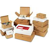 POP UP POSTAL BOXES - BROWN 113x80x45mm
