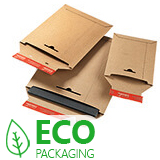 COLOMPAC BROWN SOLID BOARD ENVELOPES 170x245mm