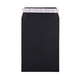 WC -  HEAVY DUTY BLACK ENVELOPES 220x220mm PEEL & SEAL