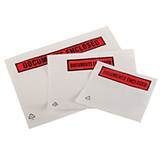DL DOC ENCLOSED ENVELOPE PRINTED 225x122mm