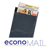 ECONO POLYTHENE MAILING BAGS - GREY - 170x230mm - Pack 500