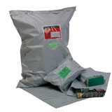 MINI PACK GREY OPAQUE POSTAL BAG 250x300