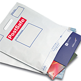 POSTSAFE MAILING BAGS W/HANDLES 335 x 430mm PACK 100