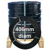 16mm OSCILLATED WOUND STEEL STRAPPING