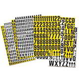 MAGNETIC MIXED NUMBERS H43mm WHITE