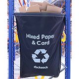 RACKSACK BLUE FOR GENERAL WASTE - INDIVIDUAL