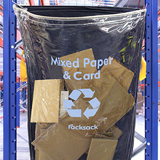 Clear Racksack Waste Recycling Bags