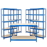 4 Warehouse Shelving Units