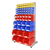 SINGLE SIDED SMALL PARTS RACK KIT 1880x930mm - 66 BINS