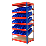 Kanban Shelving For Storage Bins