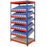 KANBAN RACK KIT B 915x610x1830mm - 70 SHELF TRAYS