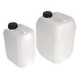 STACKABLE PLASTIC JERRY CANS NATURAL 5L
