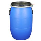 OPEN TOP PLASTIC DRUM BLUE 30L