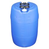 TIGHT HEAD PLASTIC STORAGE DRUMS BLUE 60L