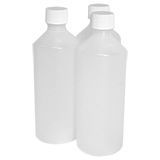 ROUND NATURAL PLASTIC BOTTLES 250ML