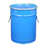 OPEN TOP STEEL DRUM BLUE 25L