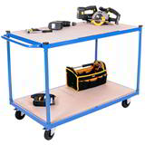 2 TIER PLATFORM TROLLEY 1200 x 700
