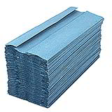 HAND TOWEL 1 PLY BLUE 225x310 (15x180 SHEETS)