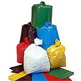REFUSE SACKS GREEN 457x736x990 32mu