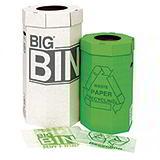 ACORN GREEN BIN - 60L - 360x677mm