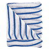 BLUE/WHT HYGIENE DISHCLOTHS - 406X304mm