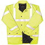 HIGH VISIBILITY JACKET - YELLOW - MEDIUM 40in