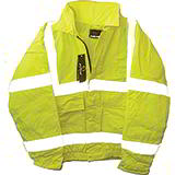 HIGH VISIBILITY BOMBER JACKET- YELLOW - MEDIUM 40in