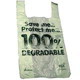 Degradable Plastic Carrier Bags