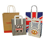 Custom Printed Carrier Bags