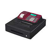 CASIO CASH REGISTER SE-S100 RED