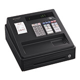 SHARP XE-A137 BLACK CASH REGISTER