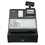 SHARP XE-A217 BLACK CASH REGISTER