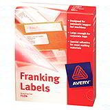 AVERY FRANKING LABELS- 140 x 38mm - FL01