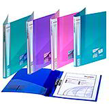 CLAMP BINDERS - CLEAR