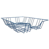 WIRE A4 FILING IN & OUT TRAYS - BLUE- TRAY