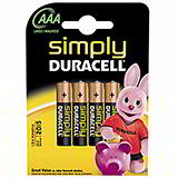 DURACELL BATTERIES - AAA - SIMPLY