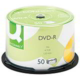 DVD-R WRITEABLE DVDs - SPINDLE