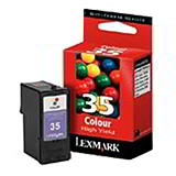 LEXMARK PRINTER INK 18CX781E 3 COLOUR